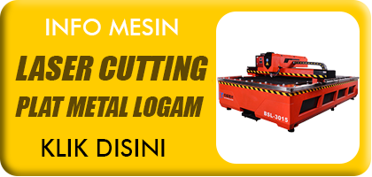 JUAL MESIN LASER CUTTING METAL