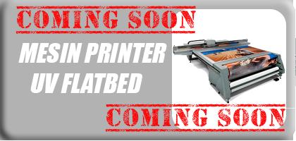 Jual Mesin Cetak UV Printing