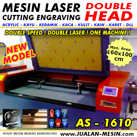 JUAL MESIN LASER CUTTING DOUBLE HEAD MURAH