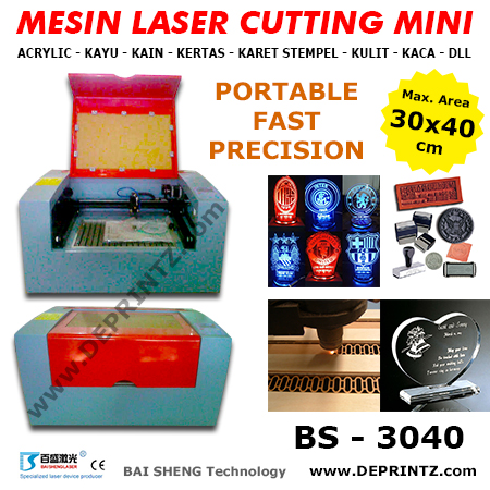 JUAL MESIN LASER CUTTING MINI MURAH