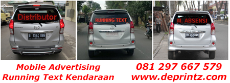 Running Text Mobil