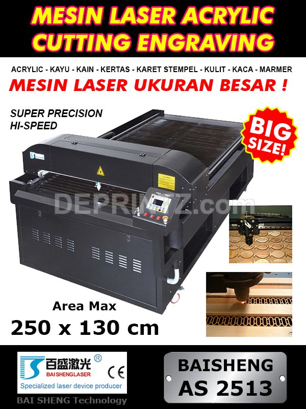 Mesin Laser Cutting AS 2513