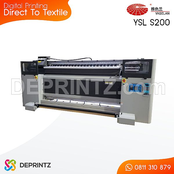 Mesin Printer Kain Direct To Textile Yaselan YSL S200