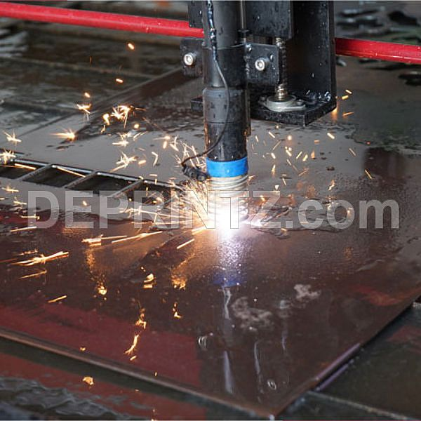 Mesin CNC Plasma Cutting Metal GARUDA CNC Plasma Cuting 1325