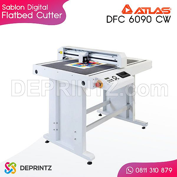 Mesin Cutting Flatbed ATLAS DFC 6090 CW