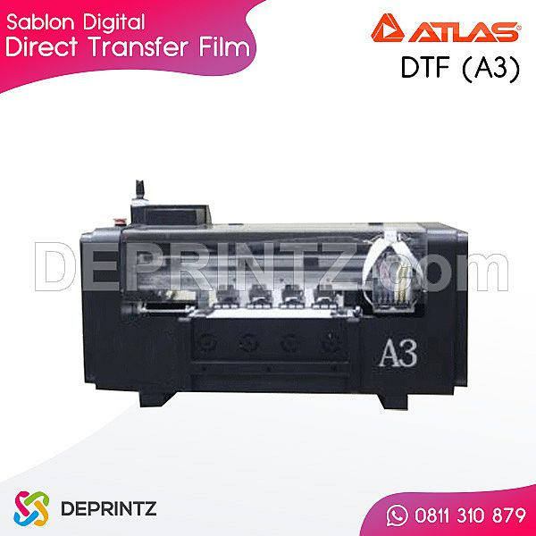 Mesin Sablon Digital DTF ATLAS A3
