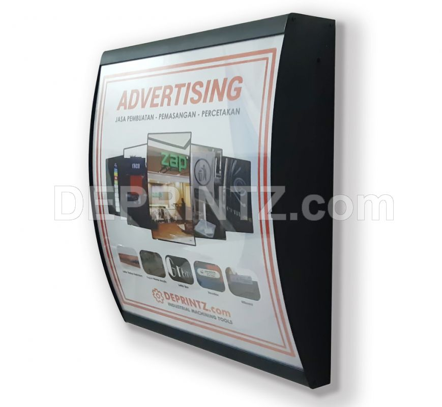 Slim Light Box LED Menu Restoran A