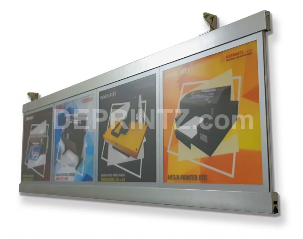 Slim Light Box LED Menu Restoran B