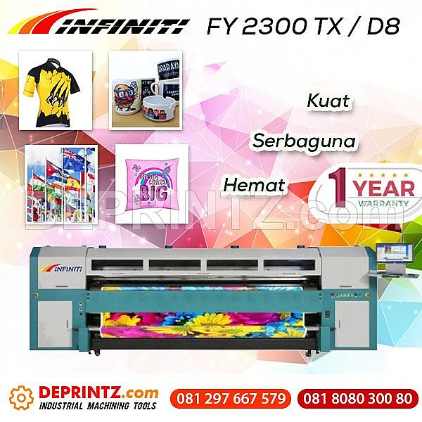 Mesin Printer Kain Infiniti FY 2300 TX / D8