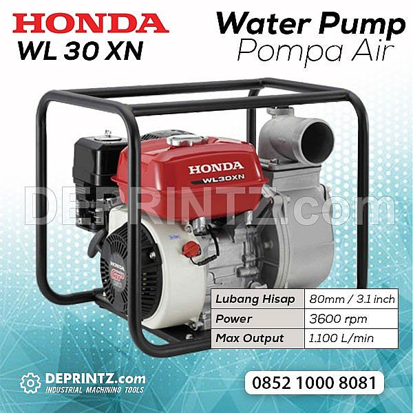 Water Pump Honda WL 30 XH/XN Pompa Air