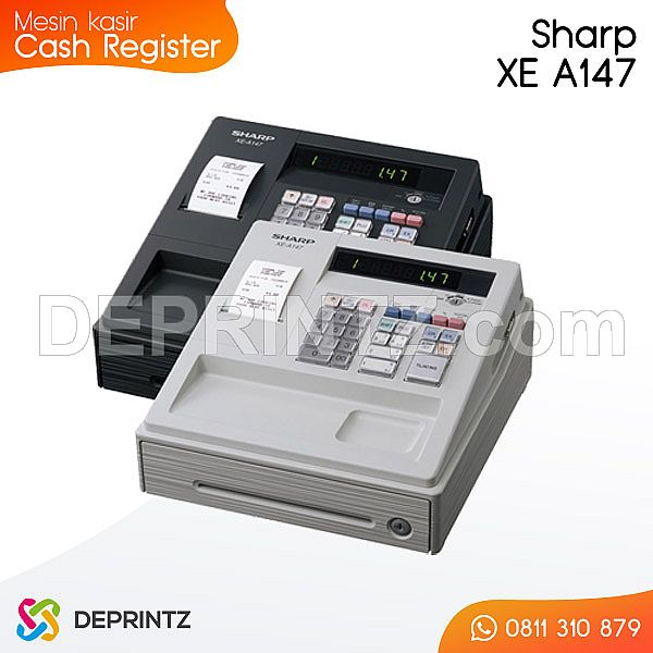 Mesin Kasir Sharp XE A147
