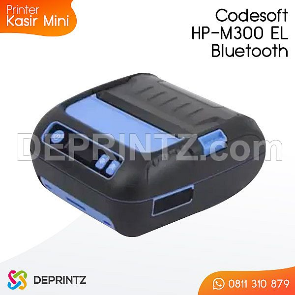 Printer Kasir Mini Codesoft HP-M300-EL Bluetooth