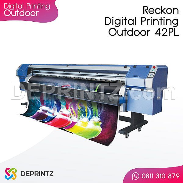 Mesin Digital Printing Outdoor ReckOn Konica 42pl