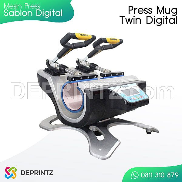 Alat Press Sablon MUG Twin