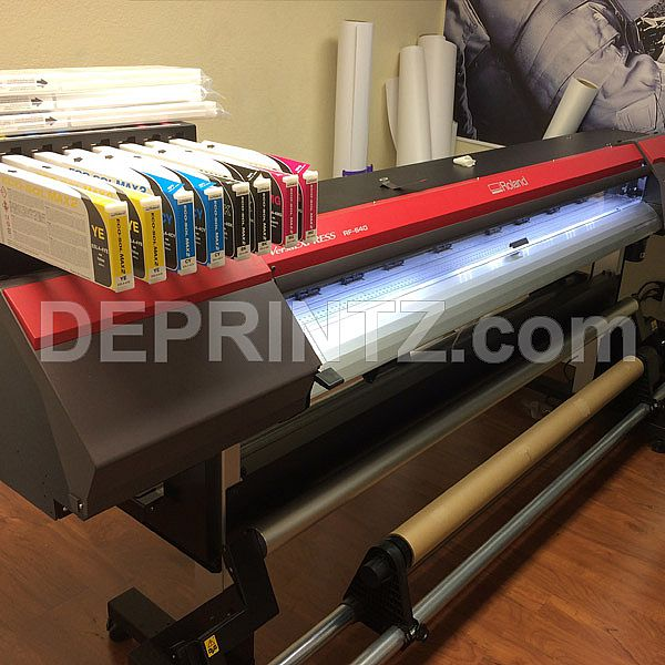 Mesin Digital Printing Indoor ROLAND RF 640 Ecosolvent
