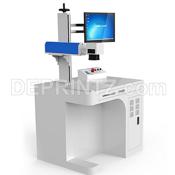 Laser Marking Senfeng SF200 with Rotary