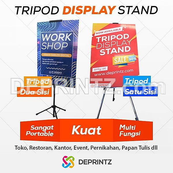 Alat Promosi Tripod Display Stand