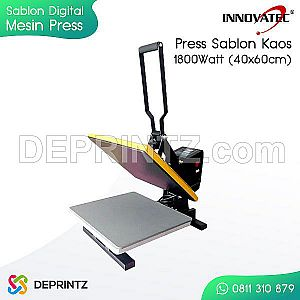 Alat Press Kaos KOREA 40x60cm 1800 Watt