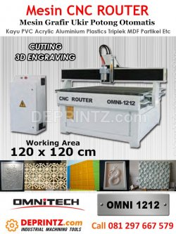 Mesin CNC Router OMNI 1212