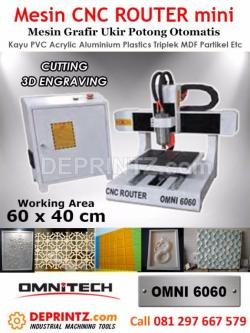 Mesin CNC Router Mini OMNI 6060