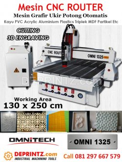 Mesin CNC Router OMNI 1325
