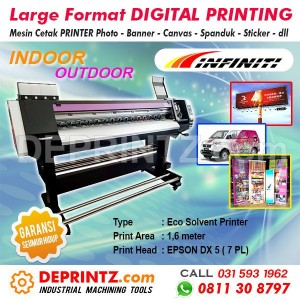 Mesin Digital Printing Indoor INFINITI FY E1607 Ecosolvent