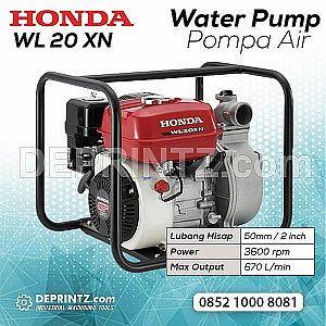 Water Pump Honda WL 20 XH/XN Pompa Air