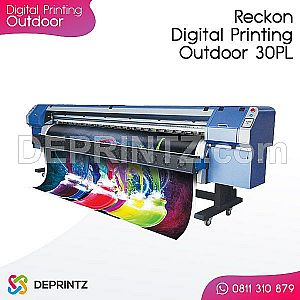 Mesin Digital Printing Outdoor Reckon Konica 30pl