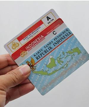 Contoh Hasil Mesin Printer ID Card
