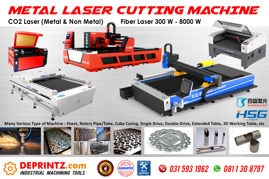 Distributor Mesin Laser Cutting Metal Indonesia