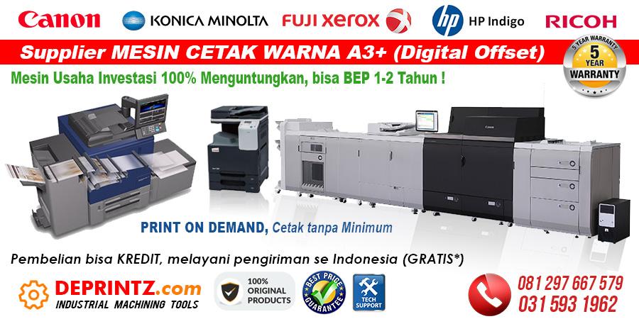 Jual Mesin Cetak Printer Laser Warna Digital Printing Offset A3