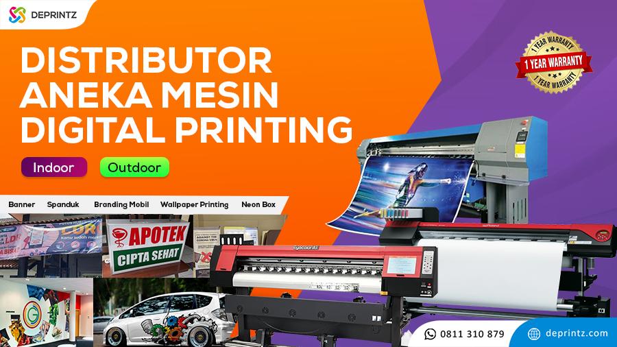 Jual Mesin Printer Digital Printing Indoor Outdoor Murah