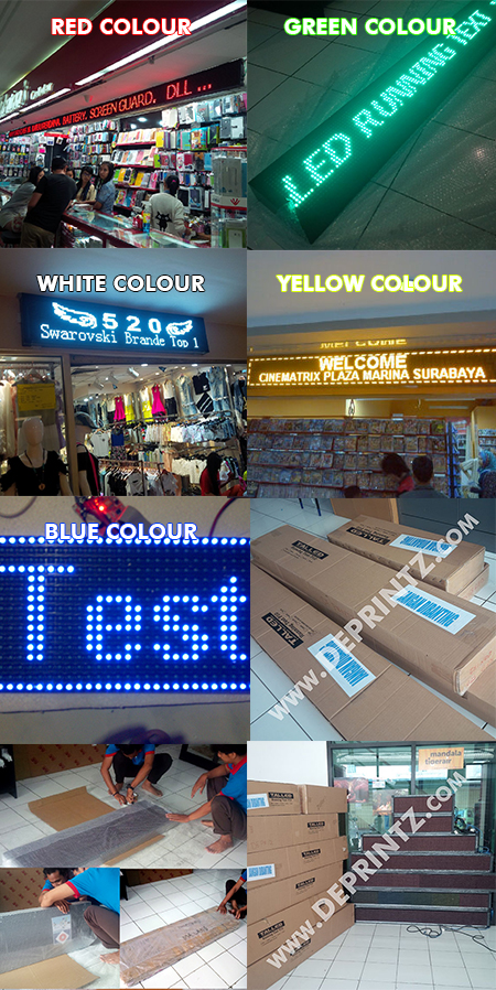 Galeri Running Text Moving Sign LED Display
