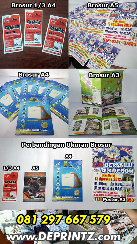Jasa Percetakan Offset Brosur Flyer Poster Harga Murah Surabaya