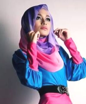 Hijab Contoh Hasil Mesin Sublim