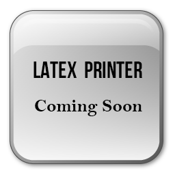 Jual Mesin Printer Latex Karet