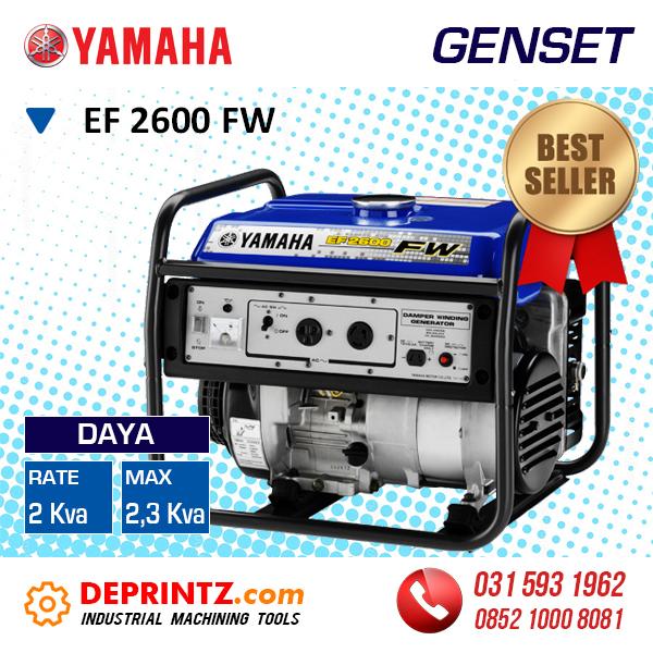 Yamaha 3000 Generator >> Distributor Supplier Toko Jual Genset Generator Set Inverter