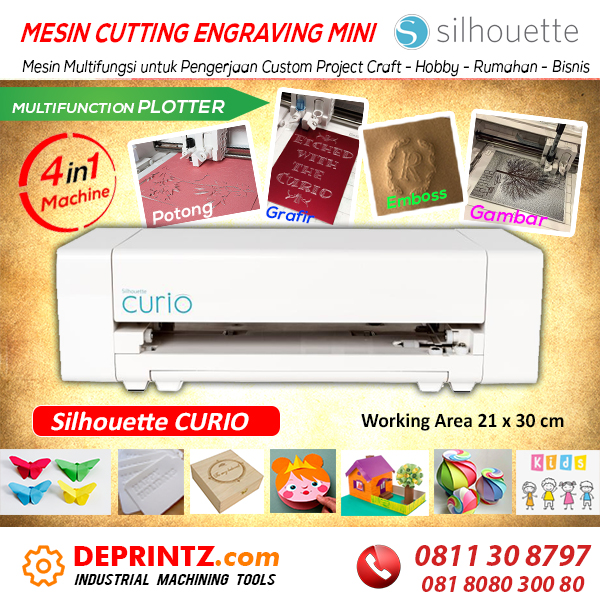 Harga Mesin Cutting Mini SIlhouette CURIO