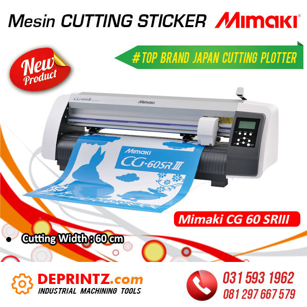 Harga Mesin Cutting Sticker MIMAKI CG60 SRIII