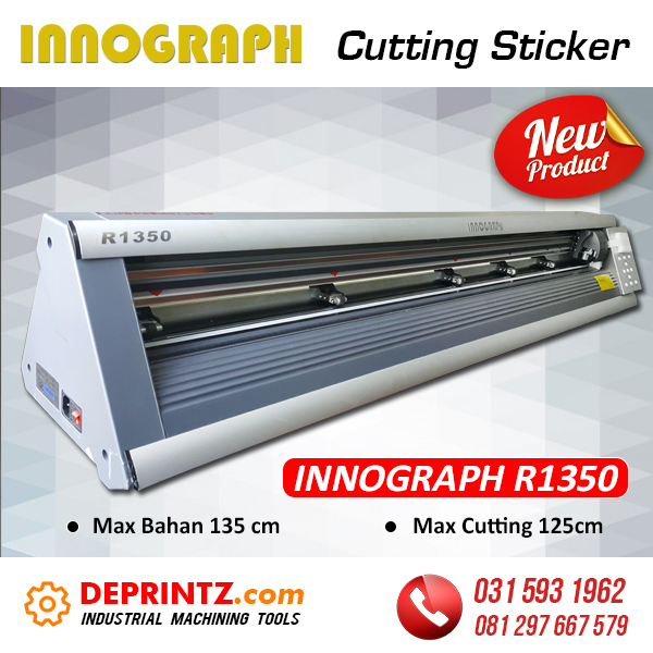 Harga Mesin Cutting Sticker INNOGRAPH R1350