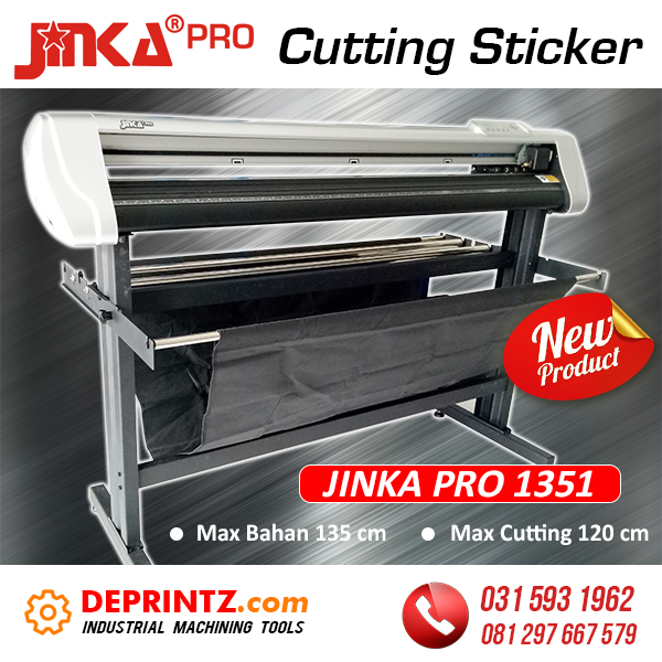 Harga Cutting Sticker Jinka PRO 1351