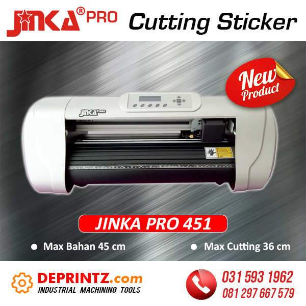 Harga Mesin Cutting Sticker Jinka Pro 451