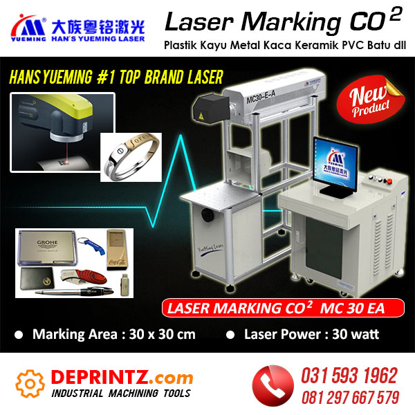 Jual Mesin Laser Marking CO2 Murah