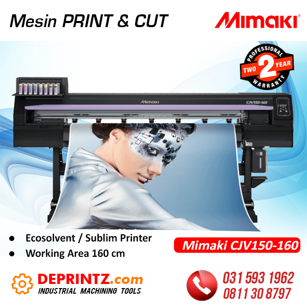 Jual Mesin PRINT and CUT MIMAKI
