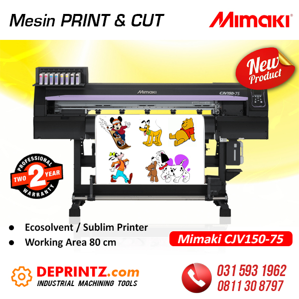 Jual Mesin PRINT and CUT MIMAKI Murah