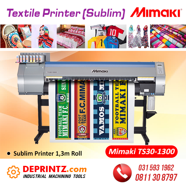 Jual Mesin Printer Sublim MIMAKI TS30-1300