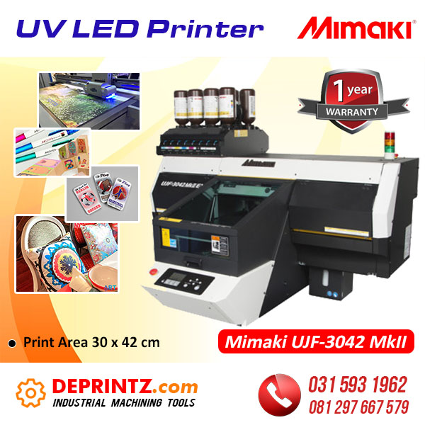 Jual Mesin Printer UV LED Printing Mimaki Flatbed A3