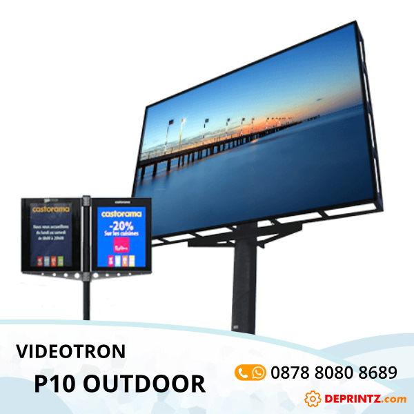 Jasa Pembuatan Videotron Outdoor P10 Video LED Screen Harga Murah