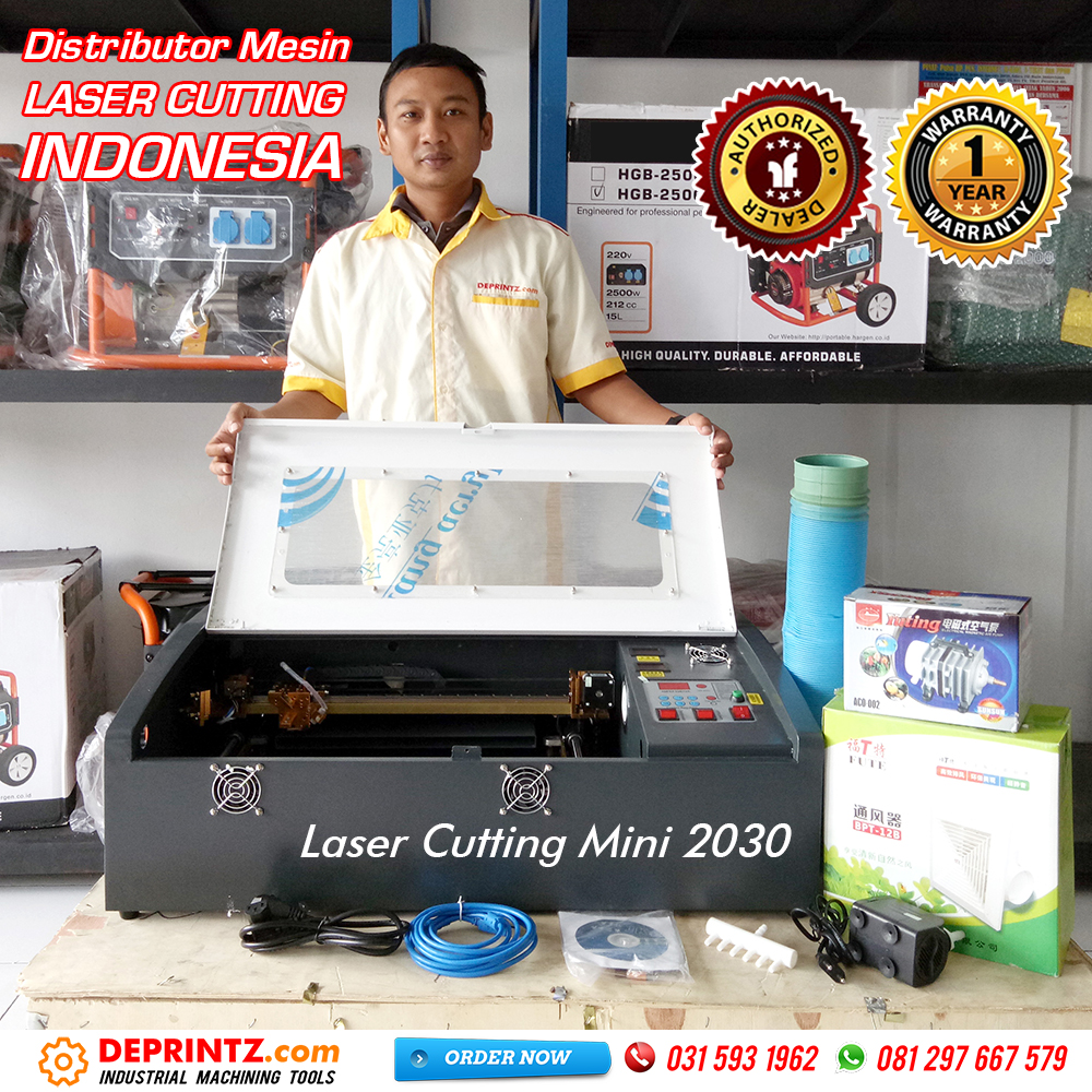 Harga Mesin Laser Cutting Akrilik Mini