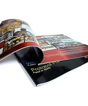 Majalah Contoh Hasil Mesin Jilid